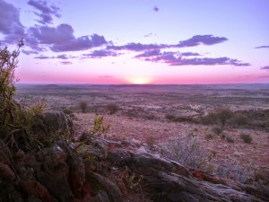 Sunset over the Living Desert, Broken Hill