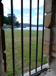 View from Port Arthur Penitentiary cell