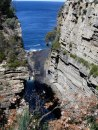 Devil's Kitchen, Tasmania