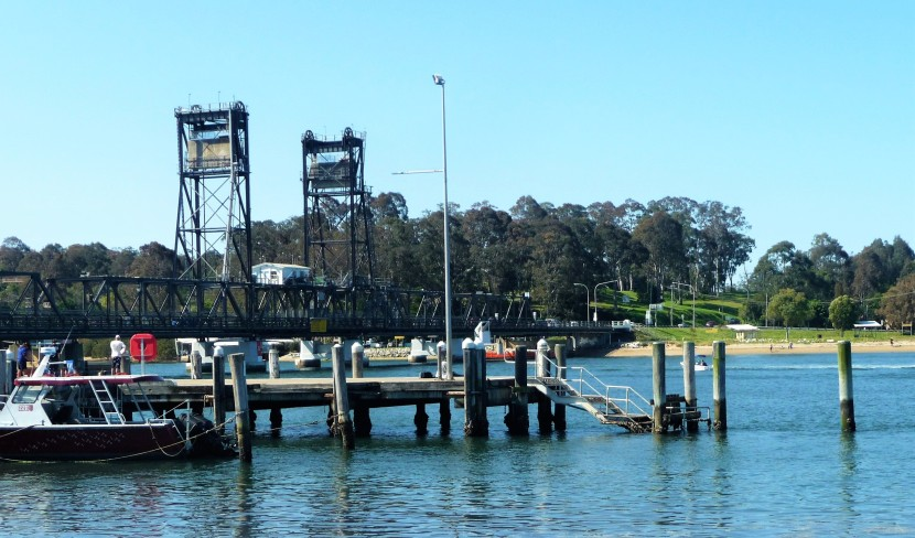 Birds and boats, Batemans Bay, New South Wales